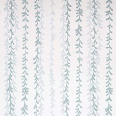 Clay McLaurin Studio Weeping Willow_Mineral Wallpaper Weeping Willow, Print Wallpaper, Mineral, Blues,