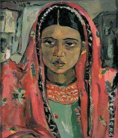 Zanzibar Woman,Irma Stern