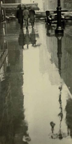 Rainy New York,1932,