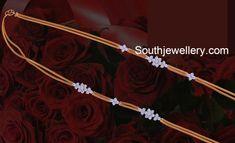 Thali Chain with Diamond Side Pendants photo