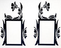 Vinyl Wall Decal, Light Switch Embellishment- Single, Sticker, Wall Graphic, Item #1023