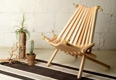 JOINERY - Pioneer Chair in Pine - LIVING