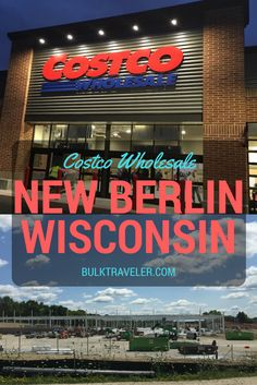 Costco Wholesale New Berlin is OPEN!!!  BulkTraveler was there for their opening day and like all Costco openings, it was spectacular!