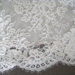 wedding dress fabric Chantilly Lace