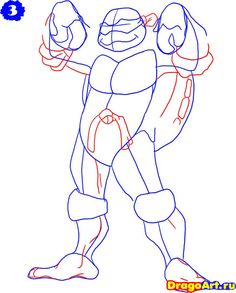 how-to-draw-donatello-from-the-tmnt-step-3