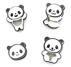 ANFIMU Adorable Panda Pocket Sandwich Cutter Bread Cutter Hand Tools Sandwich Kit Food Deco Sandwich Mold Sandwich Maker Toast Mold Mould Cookie Stamp Kit Bread Tool DIY All Kids Love It -- AMAZON BEST BUY #BreadMaker Diy Tools, Hand Tools, Sandwich Cutters, Next Gifts, Baking Accessories, Gift Finder, All Kids, Cute Panda, Child Love