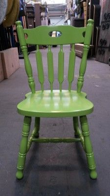 Event Prop Hire: Coloured Chairs - Green