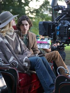 Timothee Chalamet Photos - Elle Fanning and Timothee Chalamet are seen on the movie set of the 'Untitled Woody Allen Project'. - Elle Fanning at the 'Untitled Woody Allen Project' New York Movie, Woody Allen, Film Director, Films, Movies, Perfect Man, Beautiful Boys, Manga Art, Costume Design