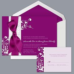 Forever Color - Sangria - Invitation *Use Associate #689193 when ordering
