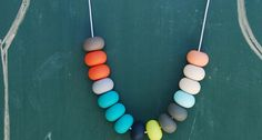 tiny and I teething necklace