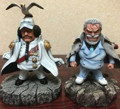 One Piece | Action Figure | Sengoku & Garp