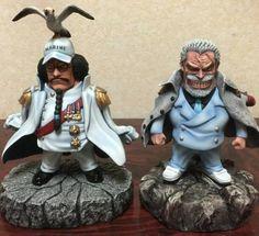 One Piece | Action Figure | Sengoku & Garp