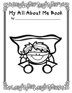 Super Student All About Me Books - perfect for back to school or as an early finishers project any time of the year.
