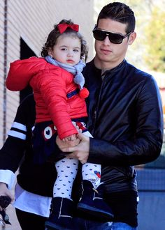 James con Salome enero 2015
