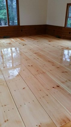 Central Mass Hardwood had the pleasure of working on these beautiful wide plank Eastern White Pine hardwood floors in Sudbury, MA. We refinished the floors and applied oil based poly.  A lot of our fans like the look of these floors! http://www.centralmasshardwood.com/eastern-white-pine-hardwood-floors-in-sudbury-ma/