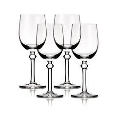 Jackie White Wine Glass Set of 4 design by B by Brandie via Burke Decor