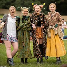 Costumes are looking a lot more unique and different at this year's Splendour in the Grass...