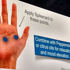 It's finally Friday. Have you had a bumpy week? Chill out with #peppermint or citrus and #spikenard #essentialoils on these hand points. #doterra