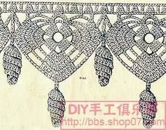 Filomena Crochet e Outros Lavores: Barrado Antigo