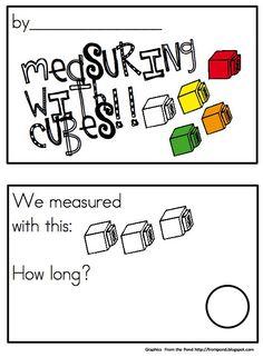 Joyful Learning In KC: Measurement In Kindergarten Measurement Kindergarten, Measurement Activities, Math Measurement, Kindergarten Math Activities, Homeschool Math, Fun Math, Math Resources, Teaching Math, Teaching Ideas