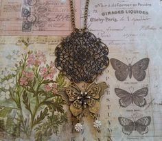 Check out this item in my Etsy shop https://www.etsy.com/listing/223645155/brass-necklace-with-filigreed-scalloped
