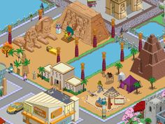 TSTO Simpsons Tapped Out Time Traveling Toaster Act Two (Egypt)