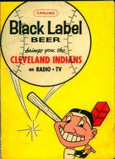 I still remember the commercial for this beer when I was a kid. Cleveland Baseball, Cleveland Indians Baseball, Cleveland Ohio, Cleveland Rocks, Willoughby Ohio, Bob Feller, Man Of The Match, Beer Label