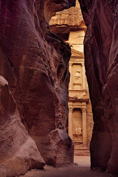 The Treasury | City Of Petra | Jordan | Photo By Klempa