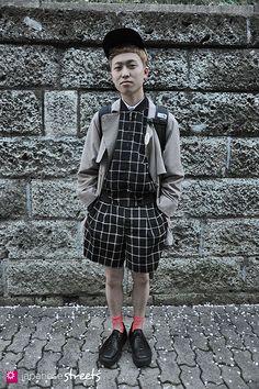 120415-1118: Japanese street fashion in Harajuku, Tokyo (Lim Code,  NISSIN, JULIA KLEIN, Tokyo Bopper, THE NORTH PLACE, HALEY SPORT)