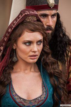 Lucrezia Donati - Laura Haddock in Da Vinci's Demons (TV series).