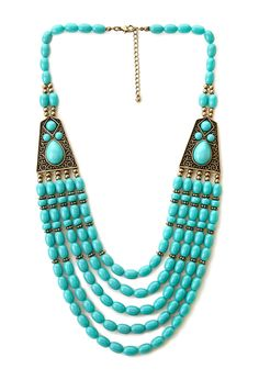 Boho Beaded Necklace | FOREVER21 Beadazzled #Accessories #F21Crush #Necklace