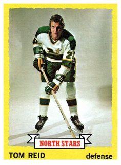 1973 Topps Tom Reid Minnesota North Stars