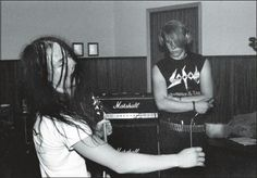 Mayhem, from the recording of Deathcrush.