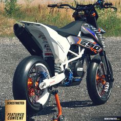 KTM SMC 690 RR – Dario DEE Custom build. « Featured « DERESTRICTED