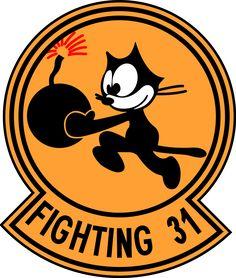 VF-31 TOMCATTERS Squadron Insignia