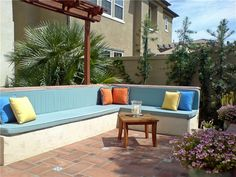 Built In Backyard Fireplace Bench Backyard Landscaping Studio H Landscape Architecture Newport Beach, CA