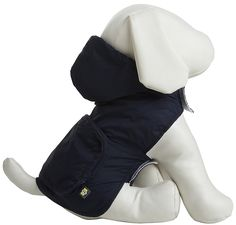 Fab Dog Pocket Travel Raincoat - Navy Argyle - X-Small ^^ Check out this great image  : Dog coats