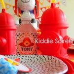 {Blissful Customers} Fire Truck Birthday Party