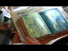 video - how to make an art journal