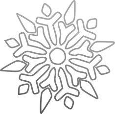 snowflake symmetry colouring sheet