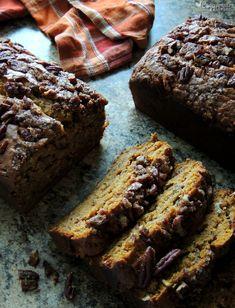 Moist & Delicious Banana & Pumpkin Pecan Bread via @ccountryliving