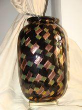 """Magnificent Murano glass vase """" La Fenice"""" by Archimede Seguso 1909-1999"""