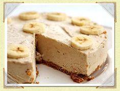 Jeges mogyoróvajas-banános sajttorta | Finom receptek - Az online receptkönyv