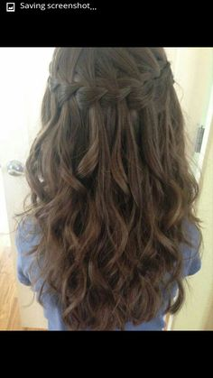 how to do trendy braided hairdos, how to do a fishtail braid, braiding tutorials, how to do a waterfall braided hairstyle, how to do braided hairstyles hairstyle Braid School: How To Do 3 Kinds of Trendy Braided Hairdos - Eluxe Magazine Curled Hairstyles, Pretty Hairstyles, Hairstyle Braid, How To Do Hairstyles, 2017 Hairstyle, Cute Little Girl Hairstyles, Woman Hairstyles, Teenage Hairstyles, Dance Hairstyles