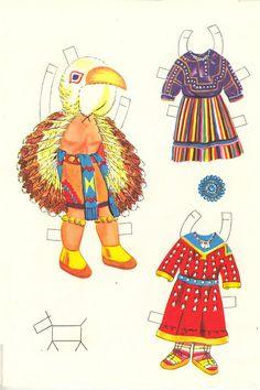Indian Paper Dolls 1956 Saalfield #1367 - Bobe - Picasa Albums Web