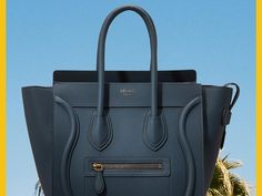 We've got good news for your closet and bad news for your wallet. If you've ever tried to pull the trigger on a Céline bag you've seen all over Instagram you've likely been disappointed when you head to Google and find out that well Céline doesn't sell its stuff online. In the past you've had to go to one of the store's boutiques (or  gasp!  pick up the phone) to buy the French label but as of today that's changing. That's because e-commerce platform 24 Sèvres just launched Céline on its…