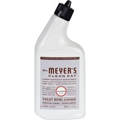 Mrs. Meyers Toilet Bowl Cleaner - Lavender - 24 fl oz - Mrs. Meyers Clean Day Toilet Bowl Cleaner makes this unpleasant cleaning chore more bearable. The cleaner is chlorine free and uses no solvents, yet cleans and deodorizes your toilet bowl like never before. The formula is made from 98% naturally-derived ingredients, mainly plant-derived extracts and is completely biodegradable and environmentally safe. Organic: NA Gluten Free: No Dairy Free: No Yeast Free: No Wheat Free: No Vegan: No…