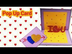 DIY  Envelope Paper heart card Gift  Valentine day envelop paper