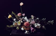 floral arrangement for #thenextbigthing dinner for Olivia Palermo hosted by Samsung