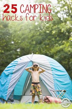 There are some really great tips here! Camping Tips and Hacks for Families from Kids Activities Blog